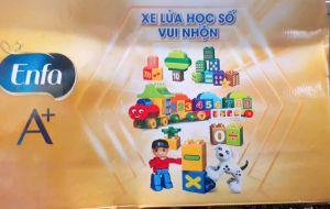 LÁP RÁP LEGO XE LỬA VÀ SỐ 75 CHI TIẾT ENFA