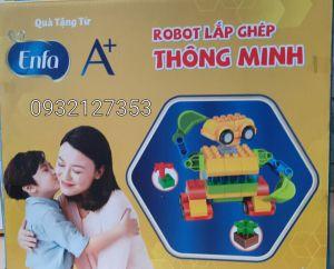 Bộ đồ chơi Lắp ráp Robot thông minh hàng quà tặng từ Enfa