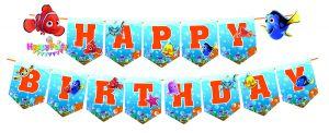 DÂY HAPPY BIRTHDAY CHỦ ĐỀ MEMO BẰNG GIẤY DÀI 2M