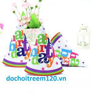 Set 6 nón sinh nhật Happy birthday