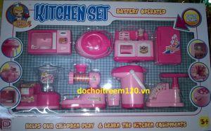 set nhà bếp bằng nhựa 8 món
