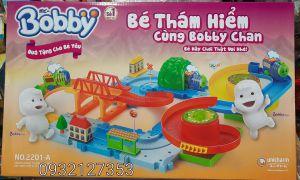 Bộ đồ chơi MÔ HÌNH XE LỬA BOBBY hàng quà tặng từ Bobby