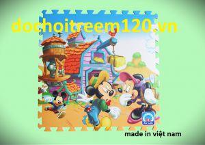 Thảm xốp Disney 60x60cm hàng VN