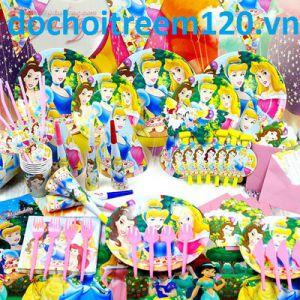 Set  trang trí sinh nhật 16 món Công chúa Bạch Tuyết