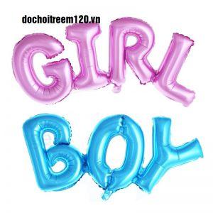 Bong bóng kiếng BOY/ GIRL