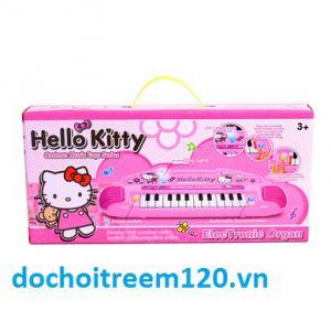 Đàn organ màu hồng Hello Kitty