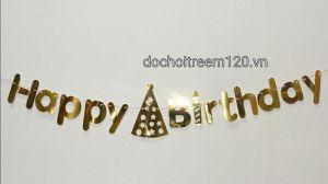DÂY TREO HAPPY BIRTHDAY ANH KIM DÀI 2M BẰNG GIẤY
