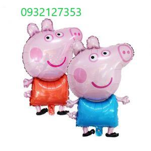 BÓNG KIẾNG HEO PEPPA PIG 70CM MÀU HỒNG/ XANH