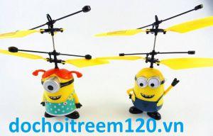 Máy bay cảm ứng minions bé trai/ bé gái có 2 mẫu