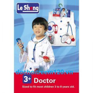 Bộ đồ chơi y phục Bác sĩ cho bé dưới 7 tuổi
