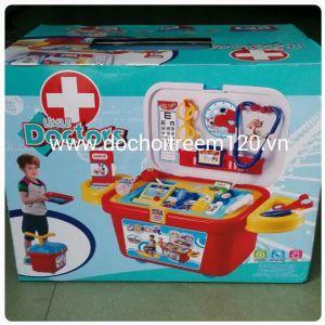 Bộ đồ chơi xe bác sĩ Little Doctors