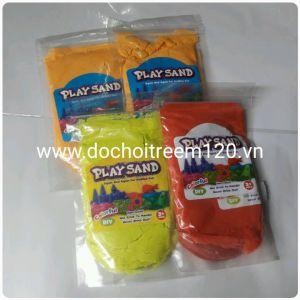 Cát nặn Playsand màu gói 200gr