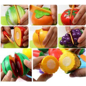 Bộ đồ chơi cắt rau củ quả