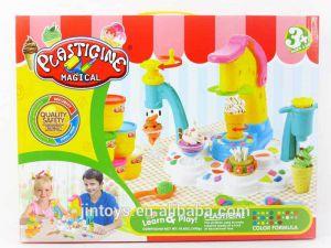Bộ đất sét làm kem Plasticine Magical