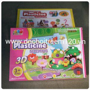 Bộ đồ chơi đất sét Plasticine 3D