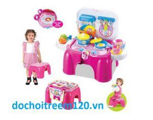 Bộ đồ chơi ghế nấu ăn Kid's Kitchen