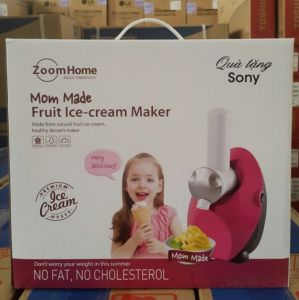 Máy làm kem ZoomHome Sony