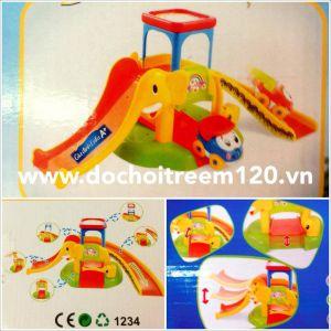 Bộ mô hình đậu xe hình voi Enfa