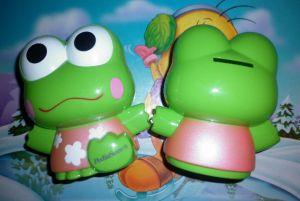 Ống heo hình ếch Pediasure