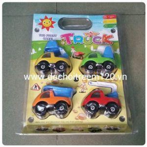 Set 4 xe công trường Mini Truck
