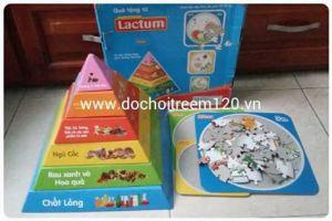 Bộ xếp chồng tháp dinh dưỡng Lactum