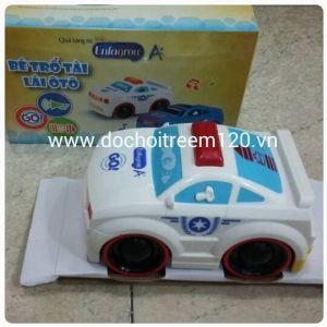 Xe cảnh sát Enfa cảm ứng (có 2 màu)