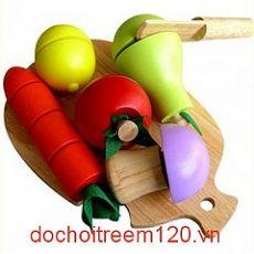 Bộ 5 loại trái cây gỗ Winwintoys