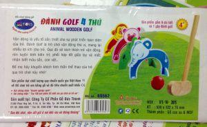 Đánh Golf 4 thú gỗ Winwintoys