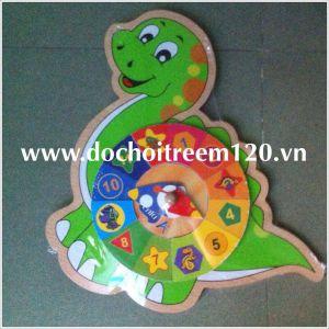 Đồng hồ lắp ráp hình khủng long Enfa