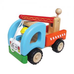 Xe cần cẩu bằng gỗ Winwintoys