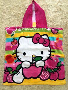 Khăn tắm biển cho bé hình Kitty, Princess, Cars