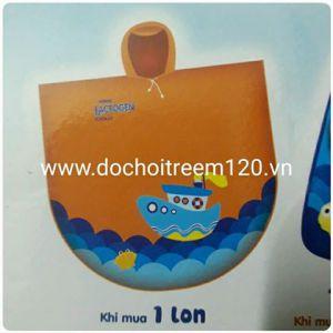 Áo mưa đại dương cho bé Nestle