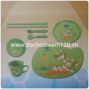 Bộ đồ ăn bằng nhựa  Enfa