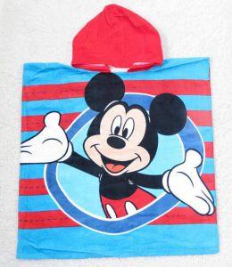 Khăn tắm biển cho bé hình Mickey, Elsa, Barbie