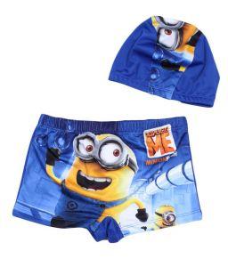 Set quần + nón bơi Minions/Cars