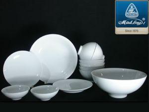 Bộ bàn ăn 12 món bằng sứ Minh Long