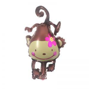 Bong bóng kiếng Con Khỉ Nâu 88cm