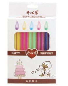 Hộp 12 nến sinh nhật màu high-light