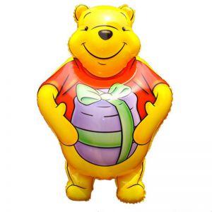 Bong bóng kiếng hình Pooh 83cm
