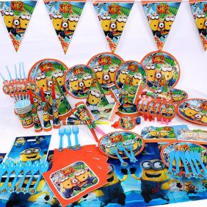 Set trang trí sinh nhật 16 món mẫu MINIONS