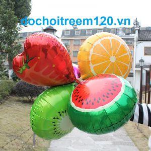 Bong bóng kiếng hình trái cây 45cm (có nhiều mẫu) 1 cái