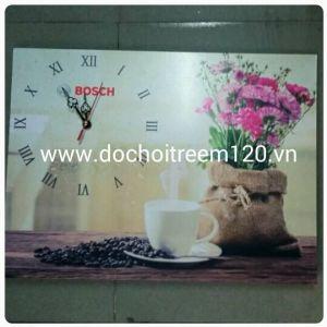 Tranh đồng hồ treo tường Bosch