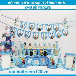 Set sinh nhật trang trí theo chủ đề 12 món (có 22 mẫu)