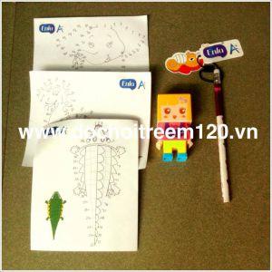 Bộ gọt bút ghép hình và bút chì Enfa