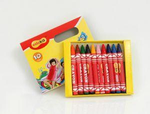 Hộp 10 bút sáp màu Colokit
