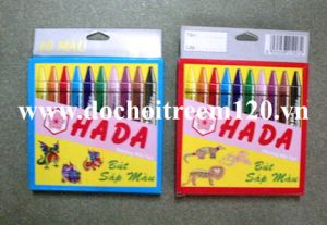 Hộp bút sáp màu Hada