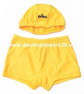 Set quần bơi + nón bơi cho bé Friso
