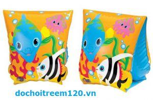 Phao bơi tay hình cá heo Intex có 3 mẫu