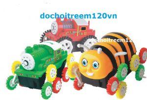 Xe nhào lộn ong vàng/xe lửa Thomas