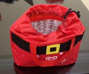 Túi giữ nhiệt vải bố dây rút Wall's